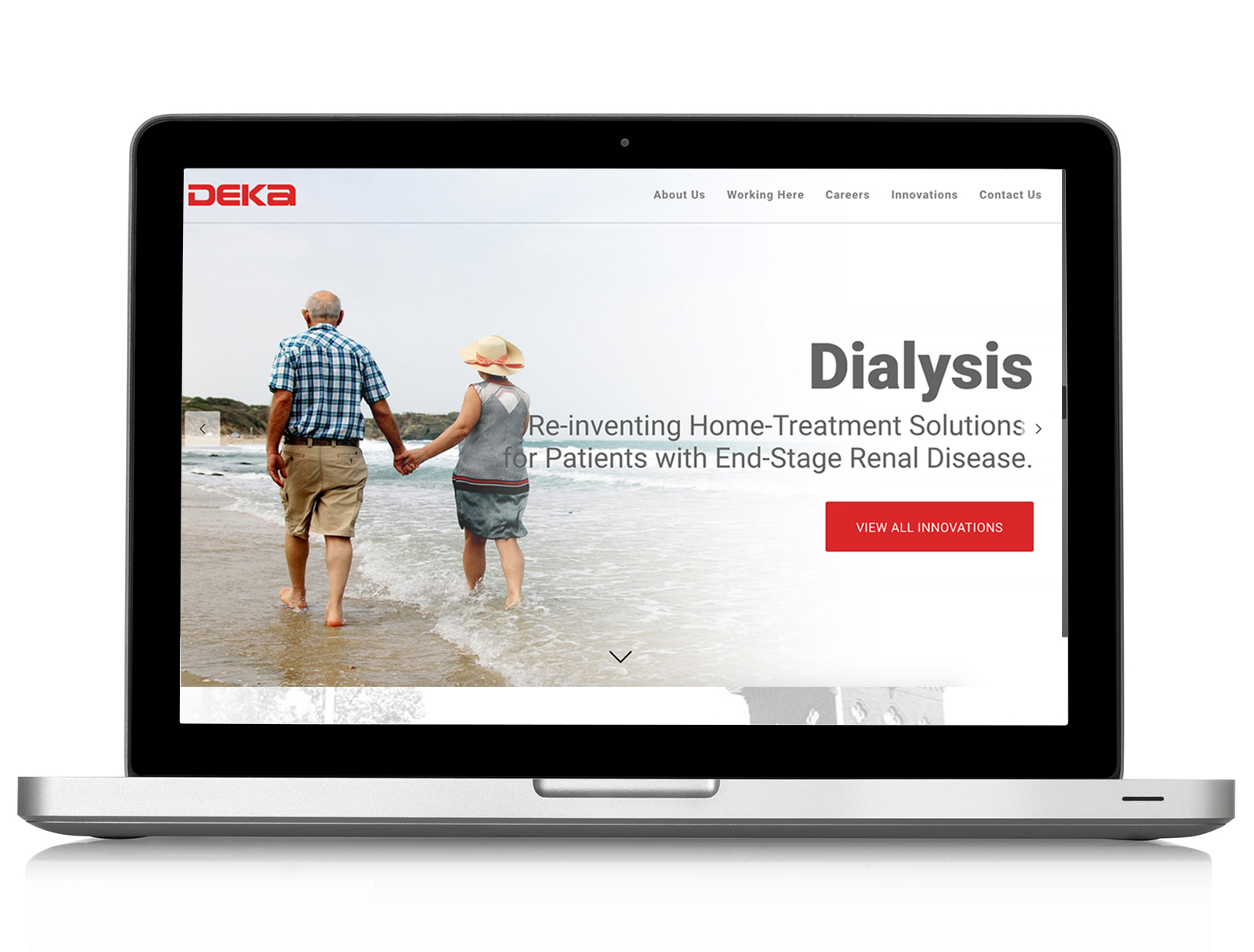 DEKA Website Re-design